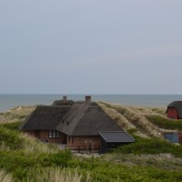 Henne Strand Camping duinhuisjes