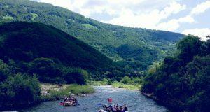 Raften in Montenegro