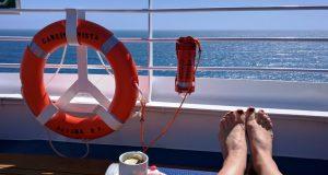 wifi op een cruiseschip: ook bij het zwembad