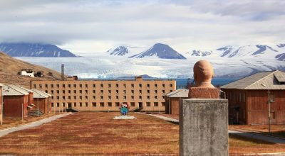 Barentsburg op Spitsbergen