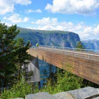 Noorwegen fjorden uitkijkpunt