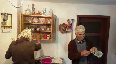 Eten bij locals in Servie