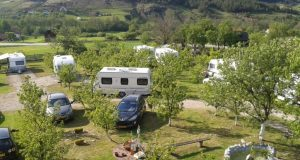 camping in Servië
