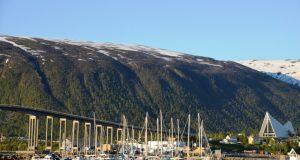 Bezienswaardigheden in het centrum van Tromso