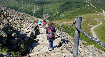 Wandelen bij Pec pod Snezkou in Tsjechie