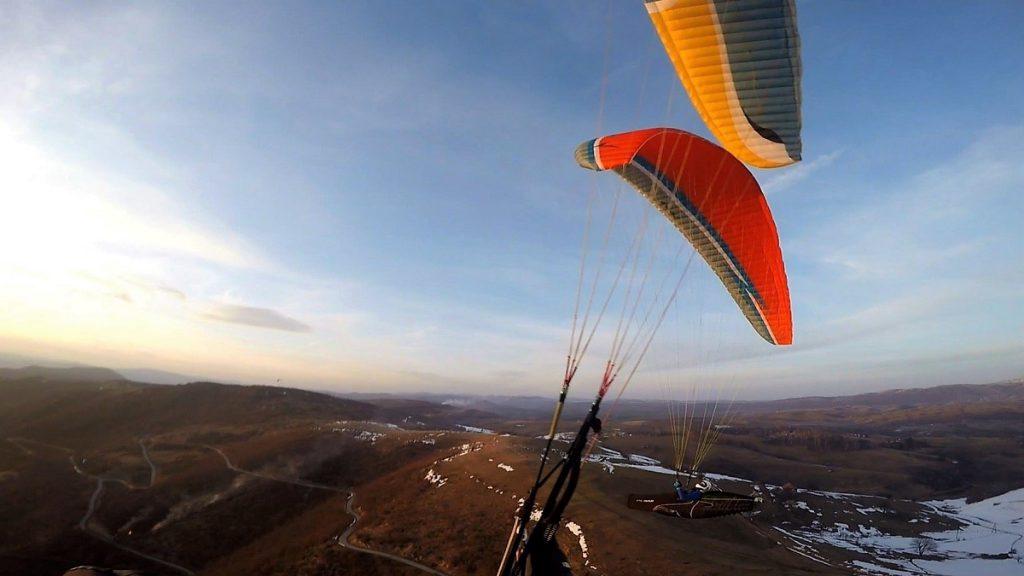 paragliden in montenegro
