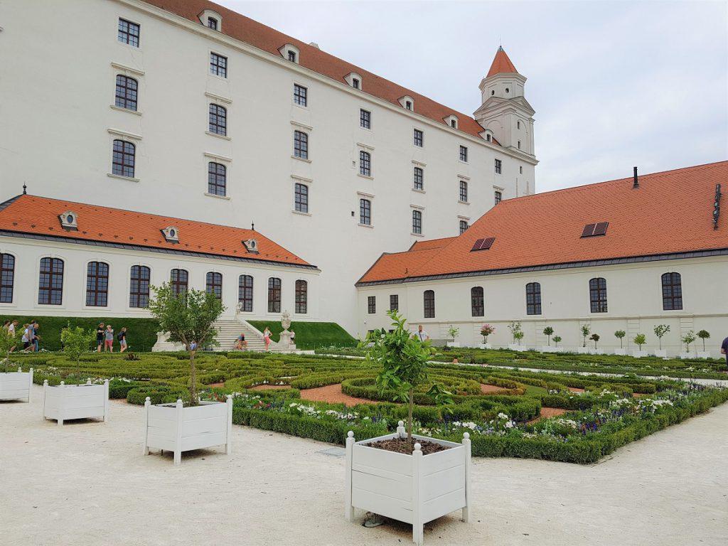 kasteel in Bratislava