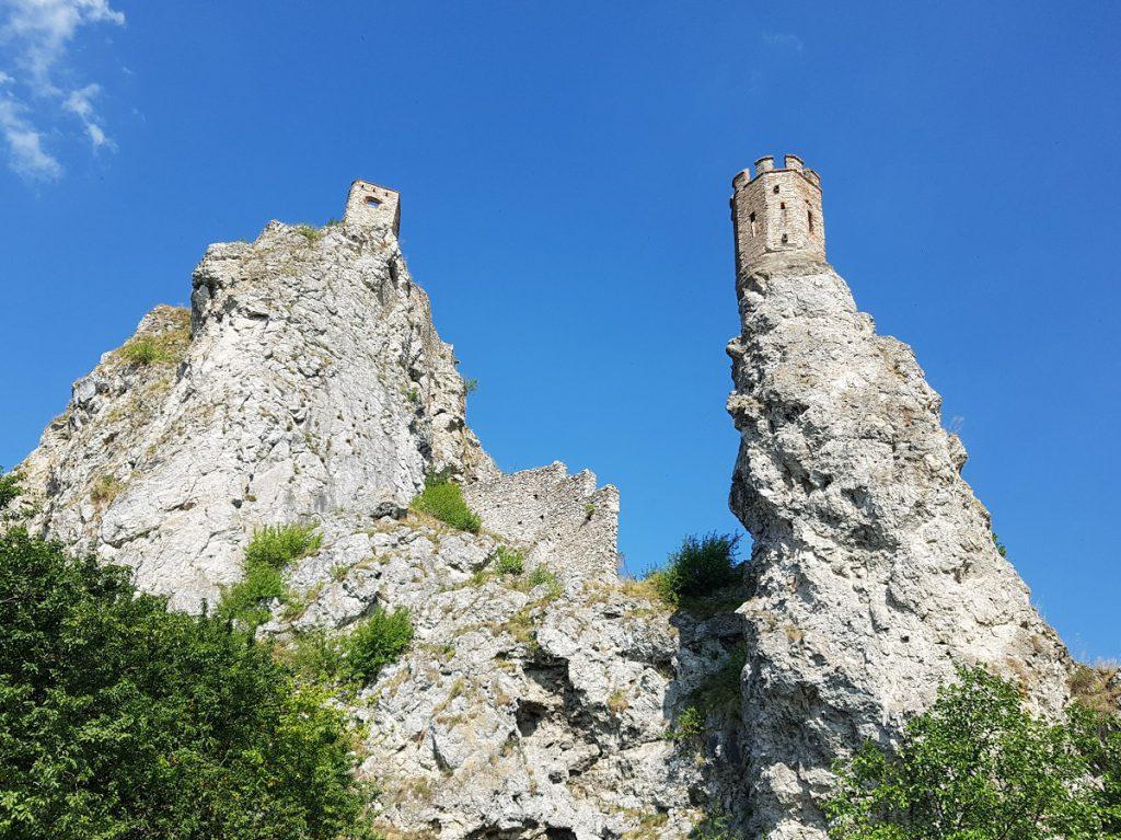 Devin ruine bij Bratislava