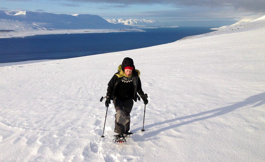 sneeuschoenwandelen ijsland