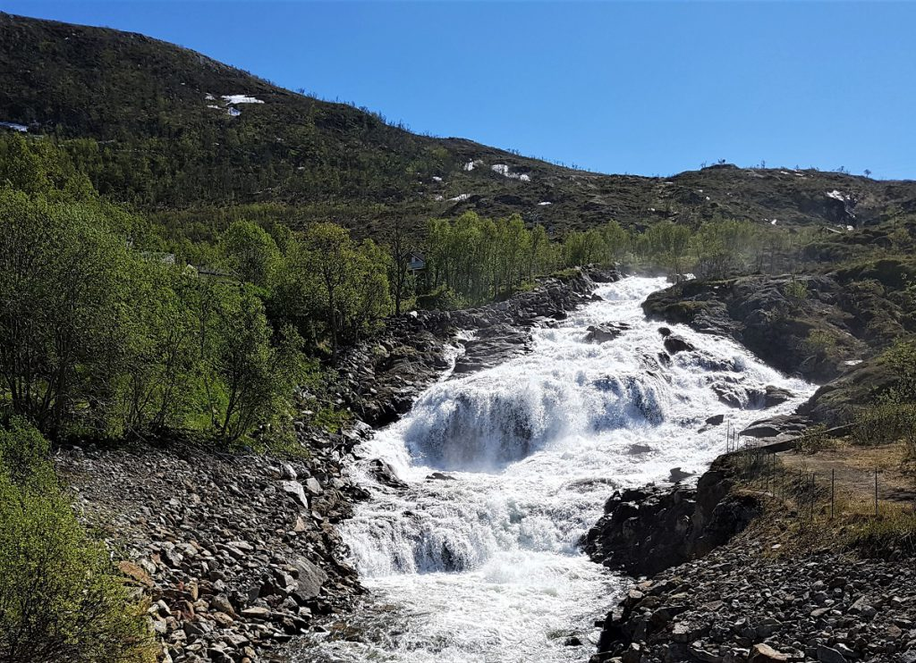 waterval noord-scandinavie